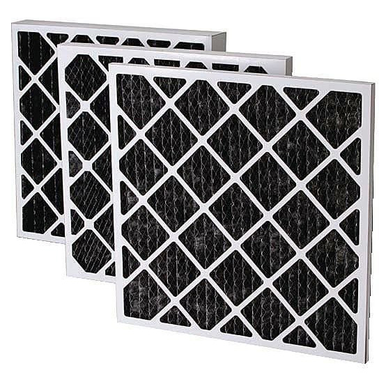 Carbon Pre Filter - Pleated - Reduce Odor - 13'' x 13'' x 2'' - Case of 12