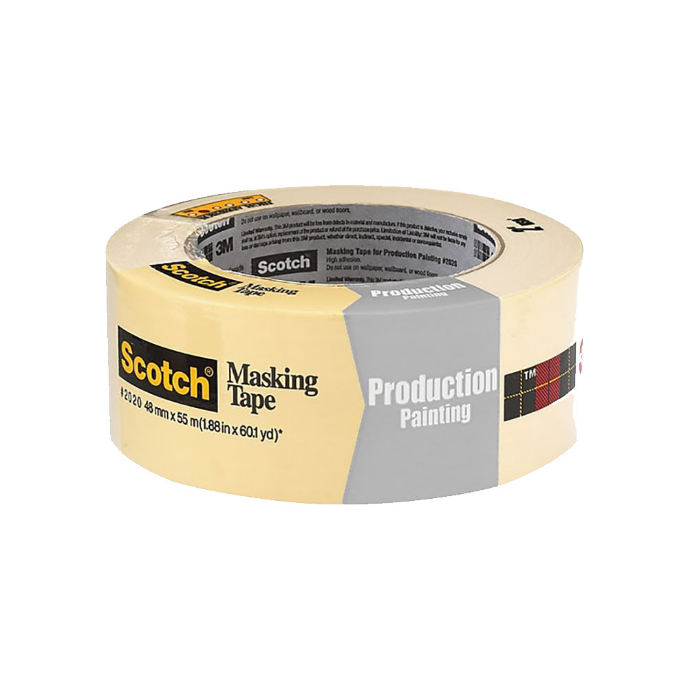 "3M 2020 Painters Tape - Masking - 2"" - Case of 24 Rolls"