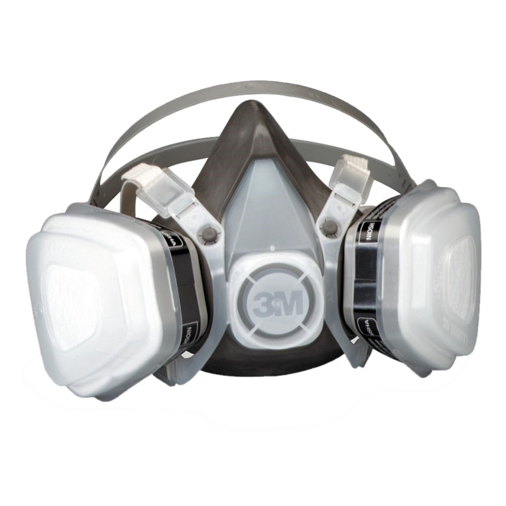 3M Half Facepiece Disposable OV/P95 Large Respirator Assembly, 53P71