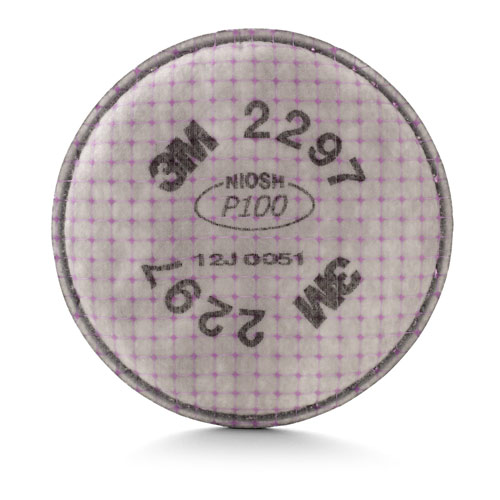 3M P100 Adv. Particulate Filter w/ Nuisance Level Organic