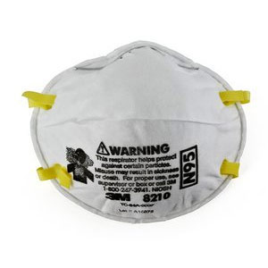 3M Particulate Respirator - 8210 Plus N95 - Bulk Box of 20