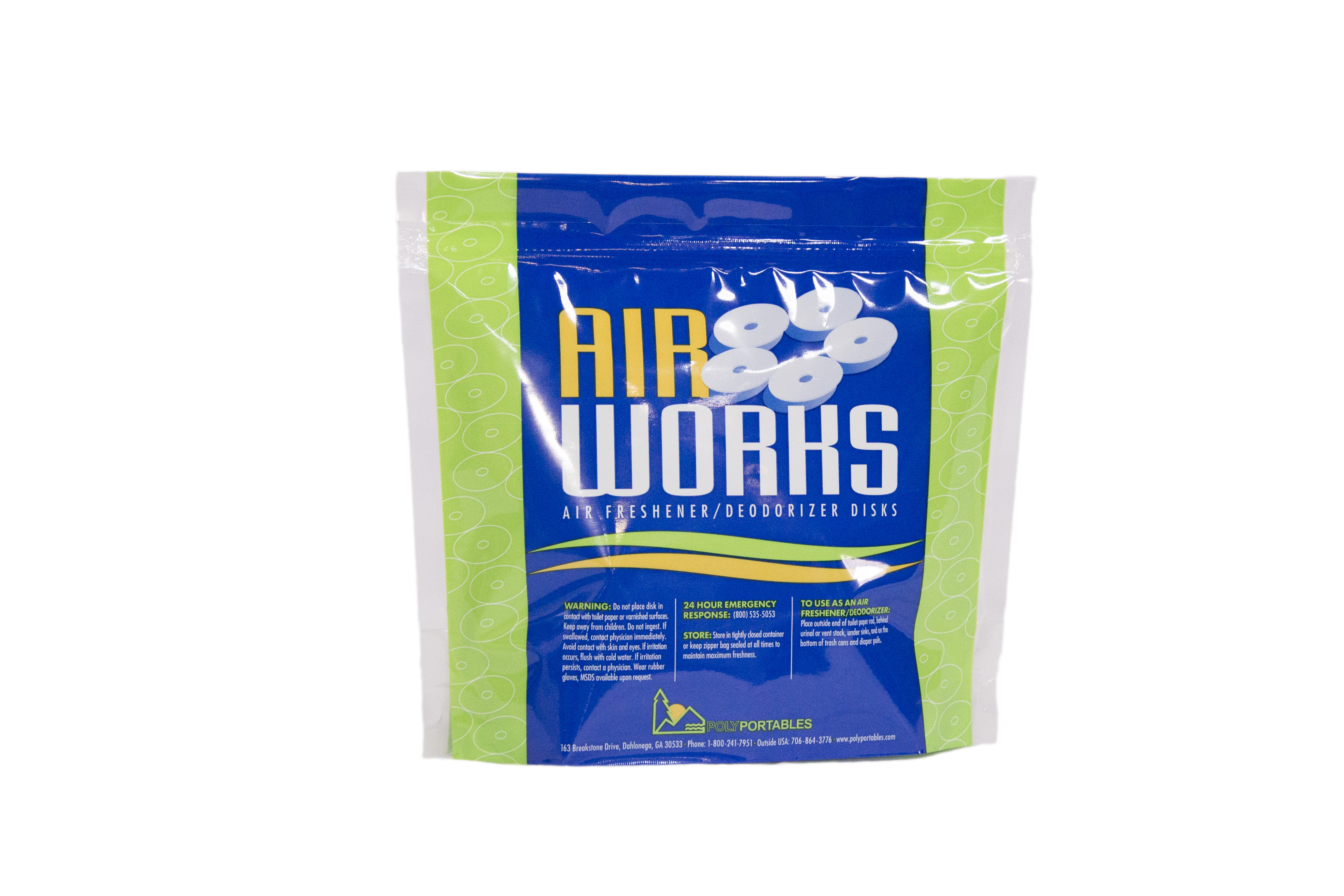 PolyPortable Air Works Discs Fresh & Clean - GWAWSFC-300
