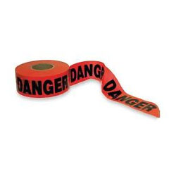 """Danger"" - Caution Tape - Safety Banner - 3"" x 1000"""