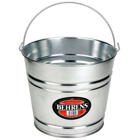 Behrens Metal Pail, 10qt - Pack of 10