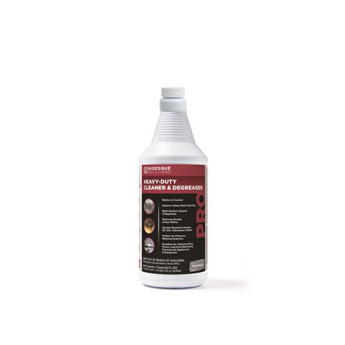 Bioesque Professional Grade Heavy Duty Cleaner & Degreaser, 1 Quart