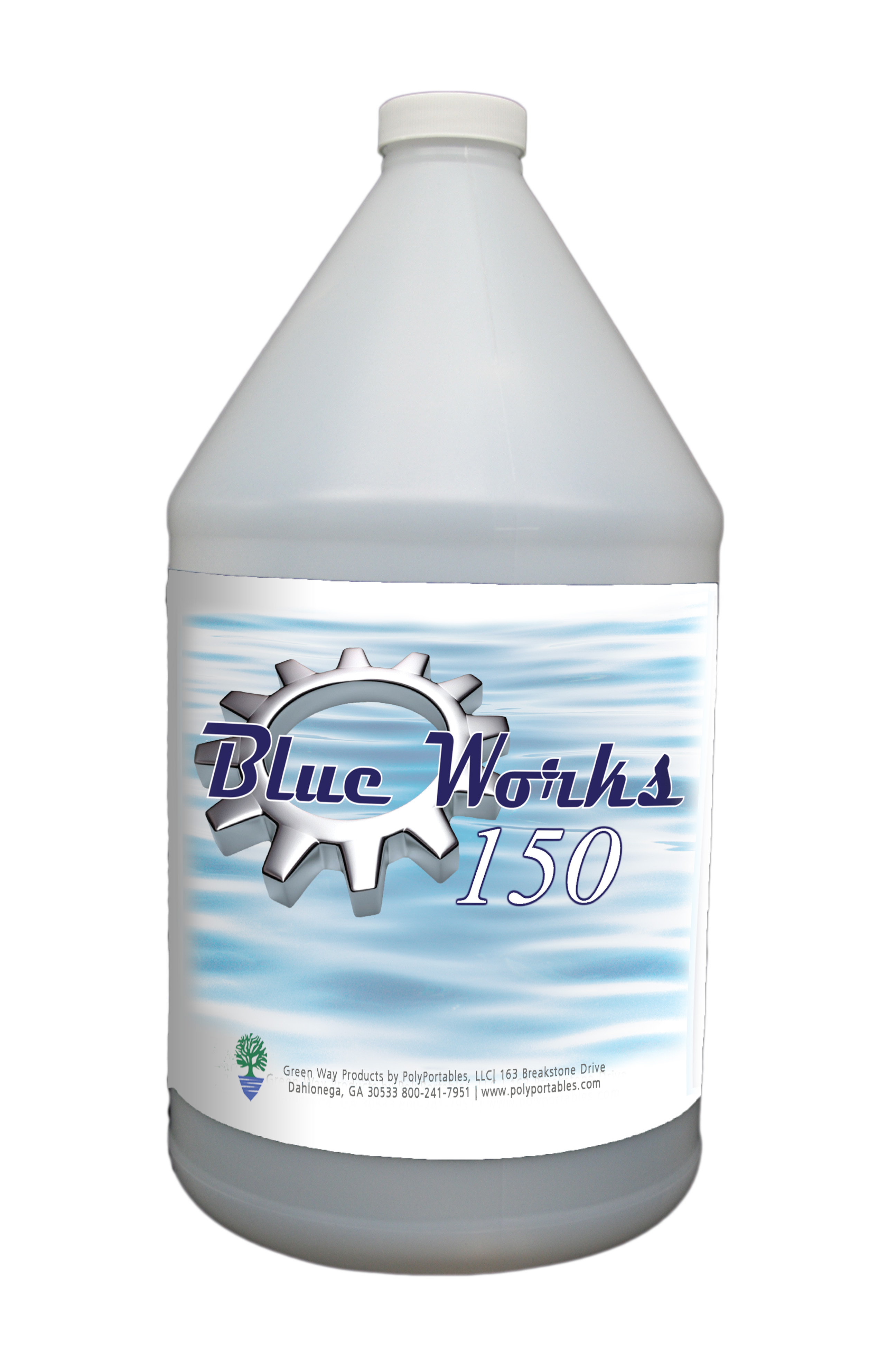 PolyPortable Blue Works 1 Gallon Mulberry - GWBW150MB-01
