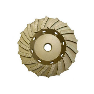 Diamond Turbo Cup Wheel for Floor Grinder - 18 Segment - 4.5""