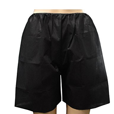 Disposable Spun Polyester Boxer Shorts - Bulk