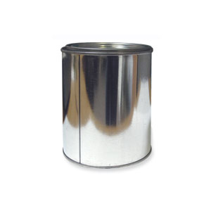 Empty Gallon Paint Can W Lid & Handle - Pack of 10