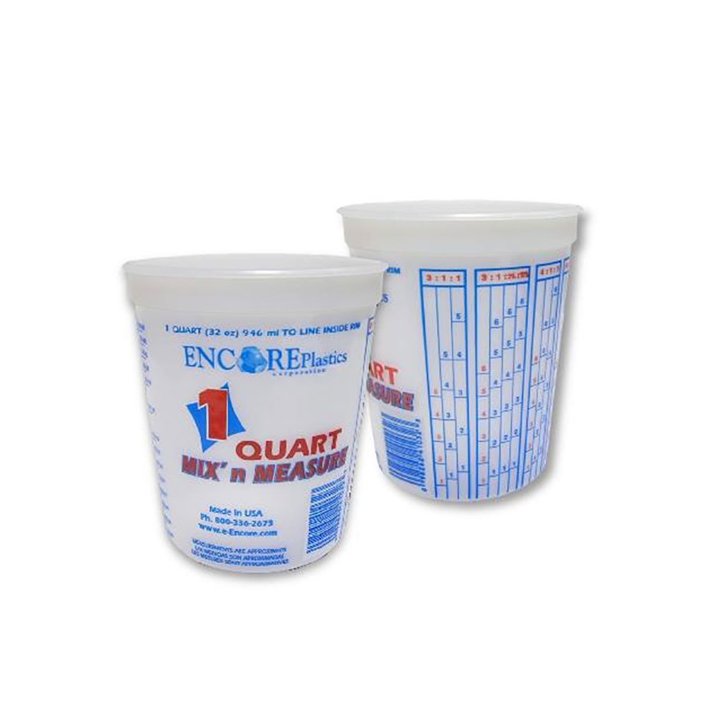 Encore 1 Qt Mixing Bucket W/ Graduations - Pack of 24