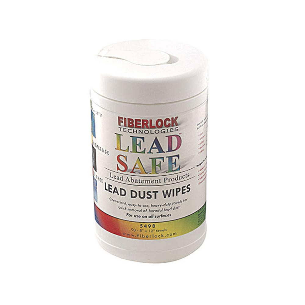 Fiberlock Lead Wipes - Dust Cleaning Wipes for Removal