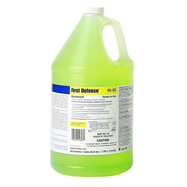 Foster First Defense 40-80 Ready-to-Use Disinfectant, EPA Registered, 1 Gallon