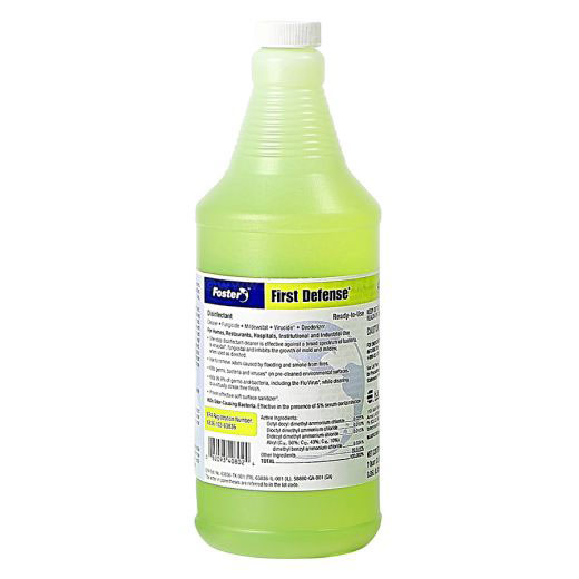 Foster First Defense 40-80 Ready-to-Use Disinfectant, EPA Registered, 32oz Spray