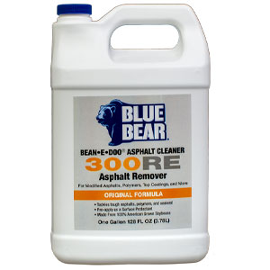Blue Bear 300RE Asphalt Remover - Bean e doo - 1 Gallon
