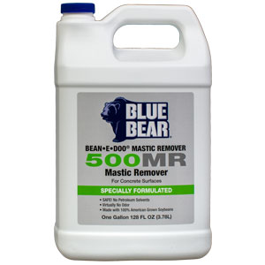 Blue Bear 500MR Mastic Remover - Adhesive Stripper - Bean e doo - 1g