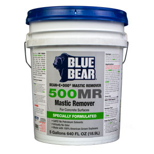 Blue Bear 500MR Mastic Remover - Adhesive Stripper - Bean e doo - 5g