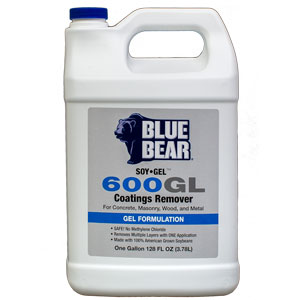 Blue Bear 600GL Soy Gel Paint Remover - 1 Gallon