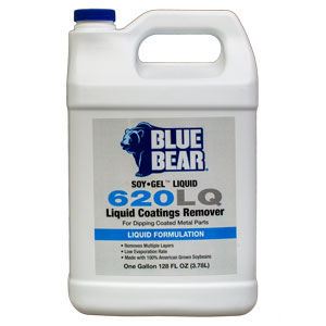 Blue Bear 620LQ Liquid Coatings Remover (SOY-Gel) - Gallon