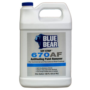 Blue Bear 670AF Antifouling Paint Remover (Soy Strip) - Gallon