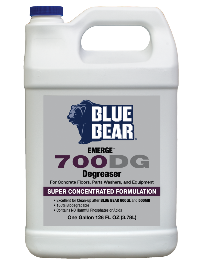 Blue Bear 700DG Degreaser - Grease and Adhesive Remover - 1 Gallon