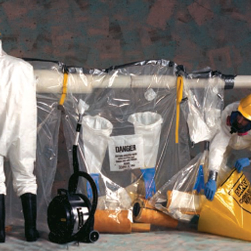 "Grayling Asbestos Glove Bags - Avail Extended Run 54"" x 60"""