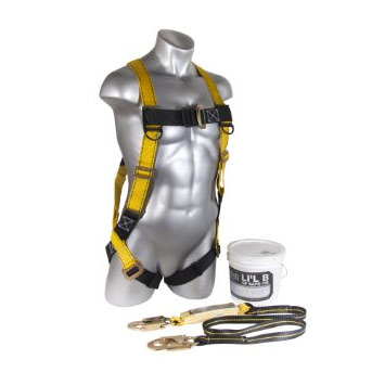 Lil Bucket of Safe-Tie - Guardian Fall Protection Safety Kit