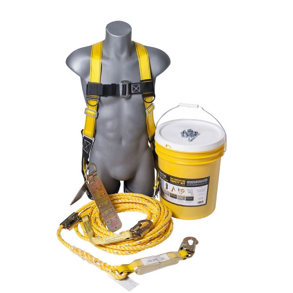 Bucket of Safe-Tie - Guardian Fall Protection Safety Kit