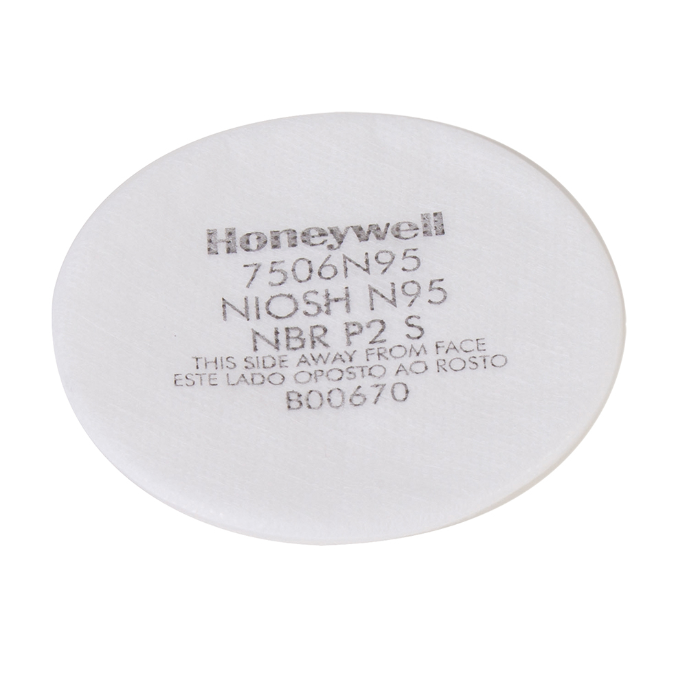 Honeywell North Respirator Pre Filter 7506 N95 - Pack of 10