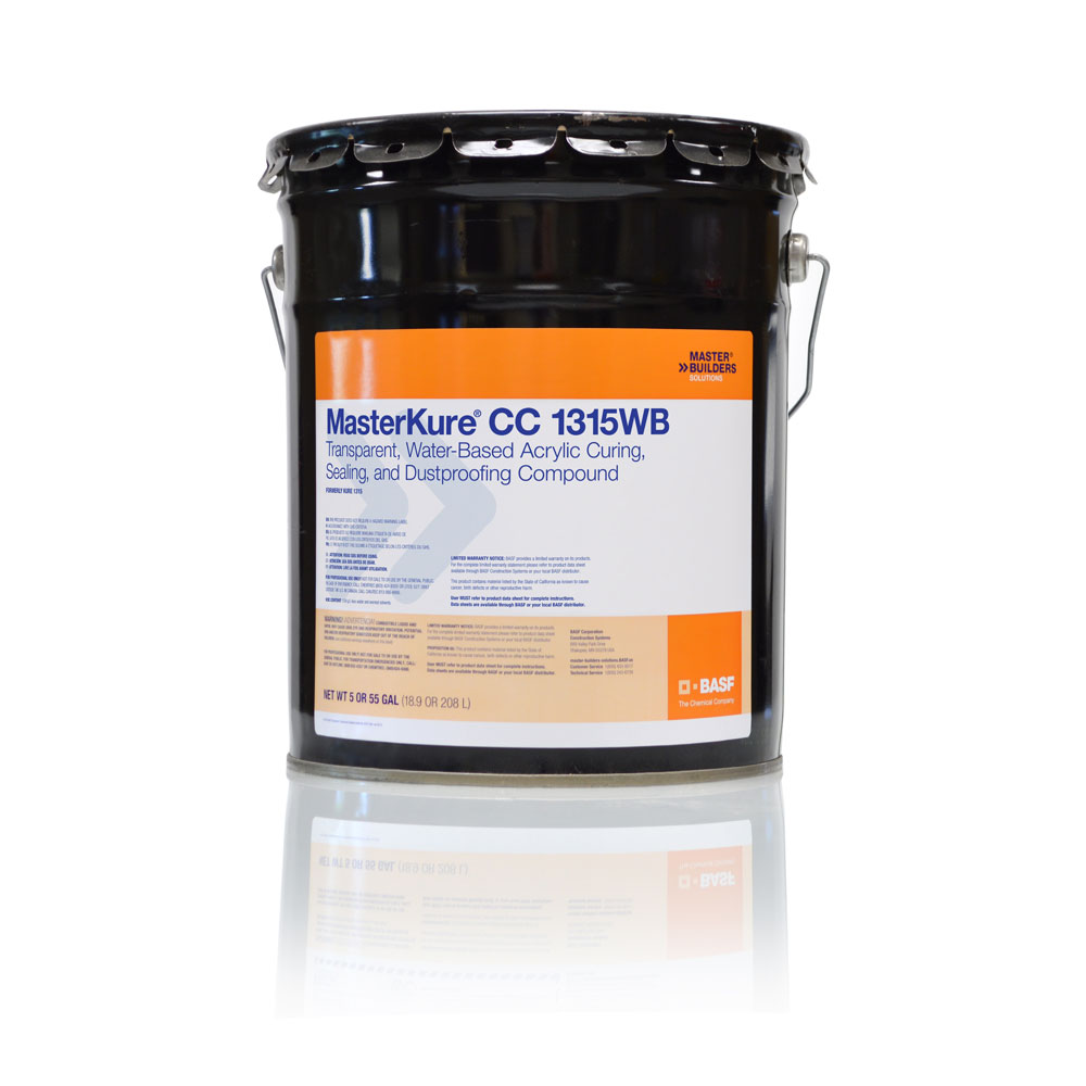 MasterKure CC 1315WB: Water-Based Sealing & Dust Proof Compound