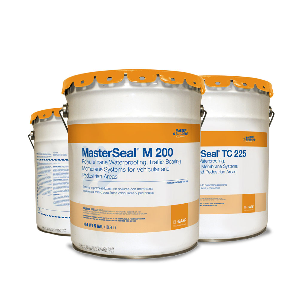 MasterSeal Traffic 1500 Poly Waterproofing Membrane Systems