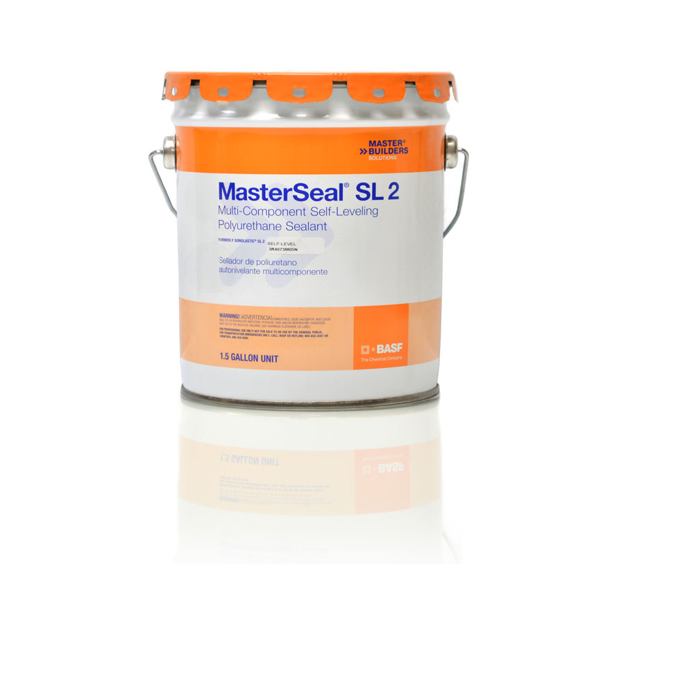 MasterSeal SL 2 Multi-Component, Self Leveling Sealant - 1.5 gallon