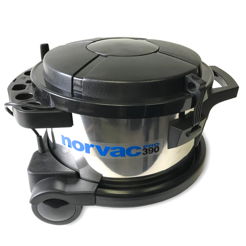 Norvac 390 Pro Canister Industrial HEPA Vacuum - Commercial