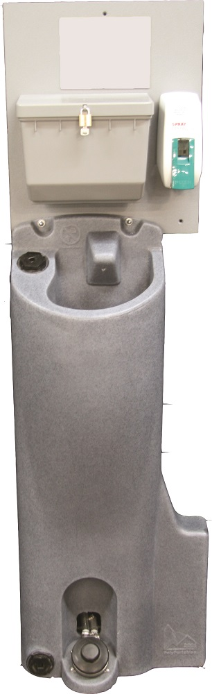 PolyPortable Sink - Portable Hand Washing Station - Grey