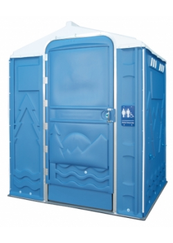 PolyPortable Restroom - Port a Potty - Blue Senator PPSENT-03