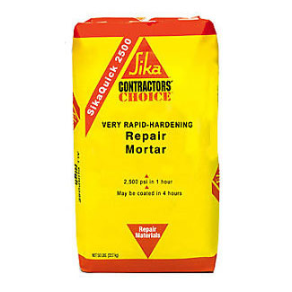 Sika Sikaquick 2500 Rapid Set Concrete Repair Mortar - Bulk Pallet of 48