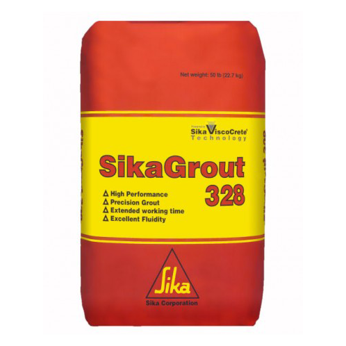 Sika Sikagrout 328 Cementitious Non Shrink Grout - Bulk Pallet of 56