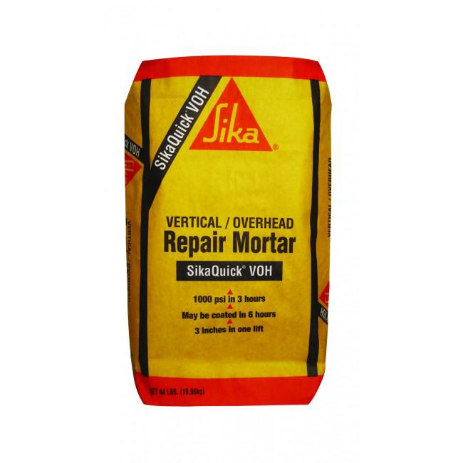 Sika Sikaquick VOH - Concrete Repair Mortar - Vertical Overhead