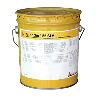 Sika Sikadur 55 SLV Epoxy Resin Crack Sealer, 3gal