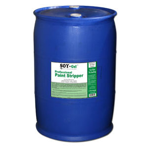 Blue Bear 620LQ Liquid Coatings Remover (SOY-Gel) - 55 Gallon Drum