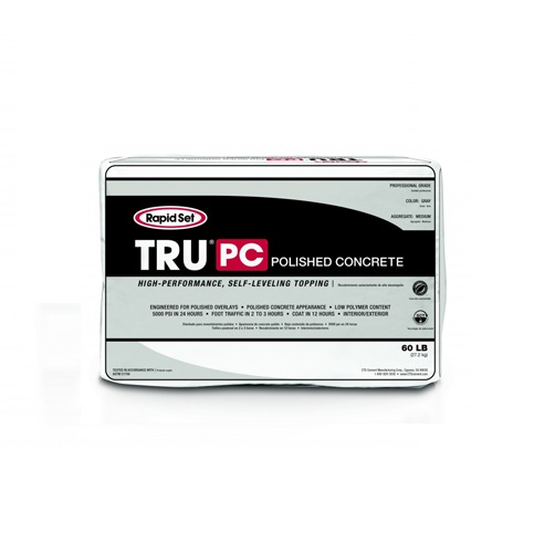 Rapid Set TRU PC Polished Concrete Topping - Bulk Pallet of 40