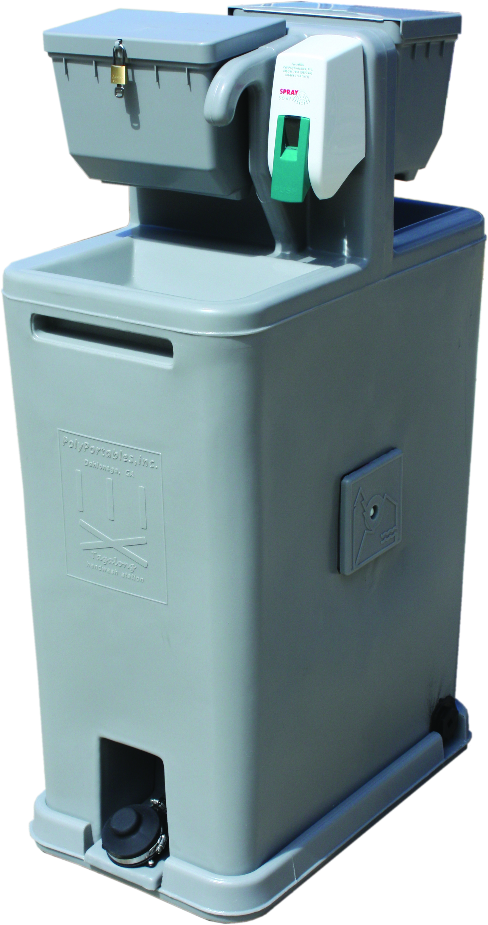 PolyPortable Sink - Portable Hand Washing Station - Tag 2