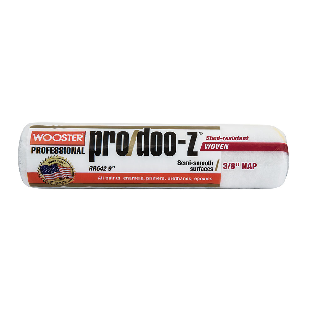 "Wooster Pro Doo-Z Roller Skin Cover 9""x3/8"" - Case of 12"