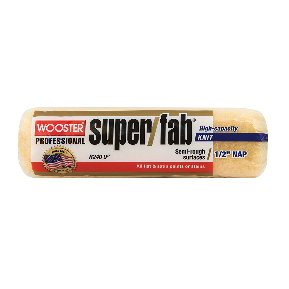 "Wooster Super Fab Roller Skin Cover 9""x3/4"" - Case of 12"