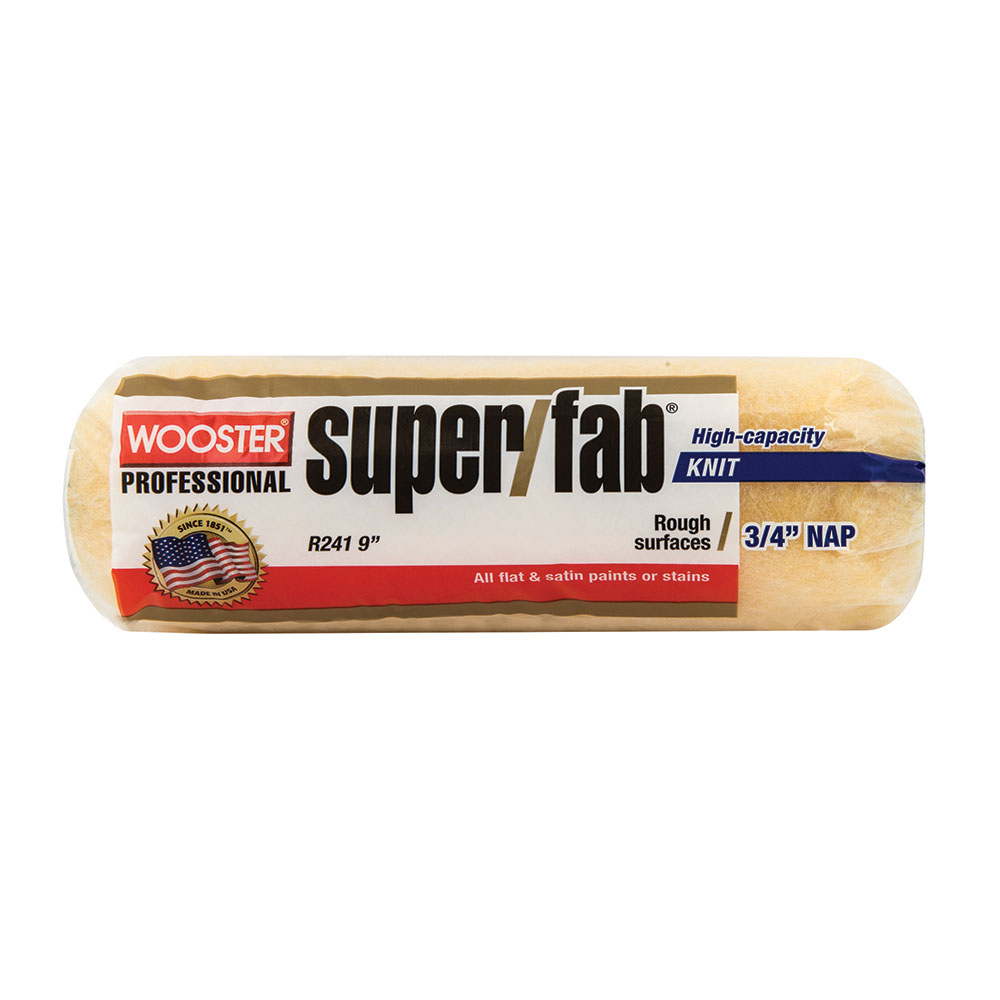 "Wooster Super Fab Roller Skin Cover 9""x1/2"" - Case of 12"