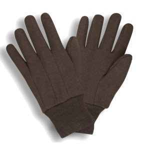 West Chester Brown Jersey Gloves #750 (dozen)