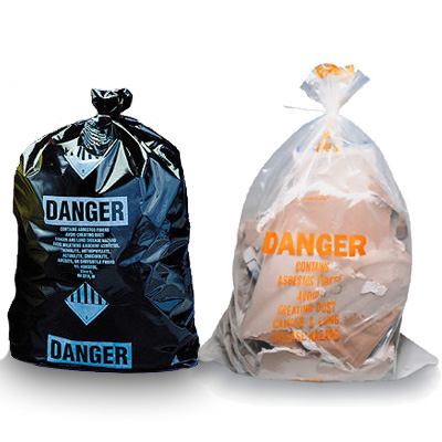 Asbestos Disposal Bags Glove Bags Abatement