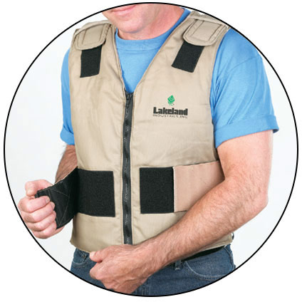 Cooling Vest - Banox Shell - Cool Ice Pack Clothing - LAK00056