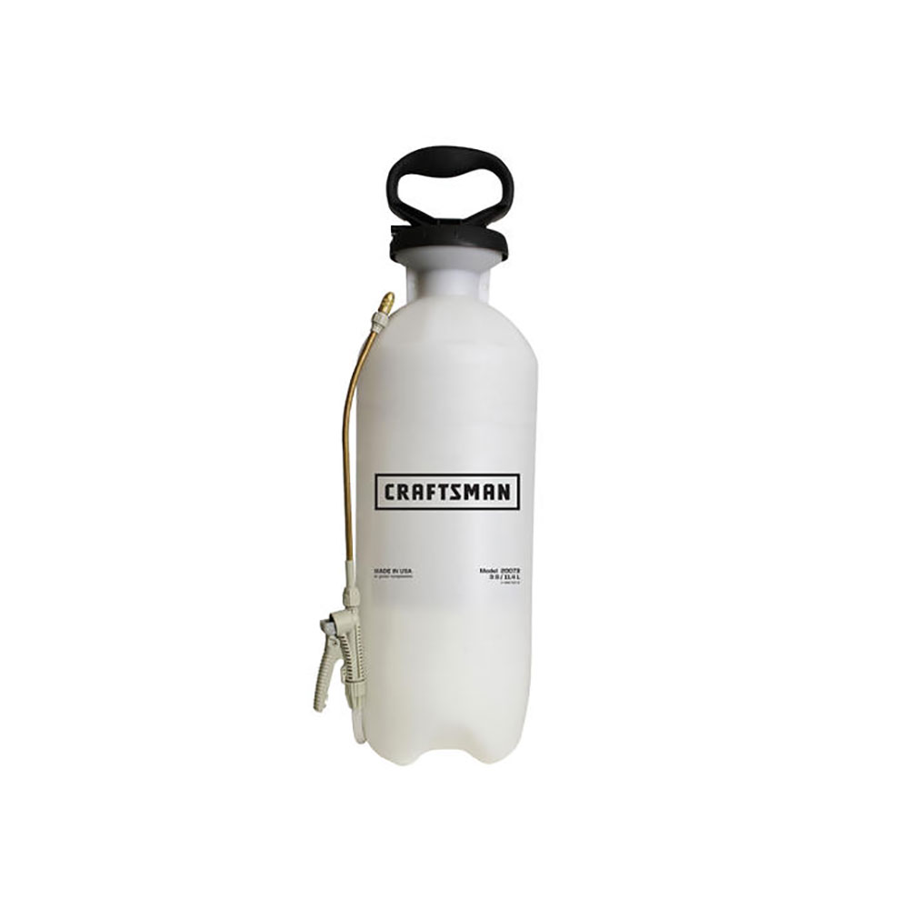 Craftsman 20073 Handheld Home Owner's Sprayer, 3 Gallon, With SureSpray Anti-Clog Filter
