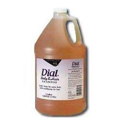 DIAL - Total Hair / Body Shampoo / Soap - 1 Gallon