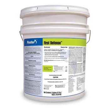 Foster First Defense 40 80 Mold Disinfectant - Remediation - 5g